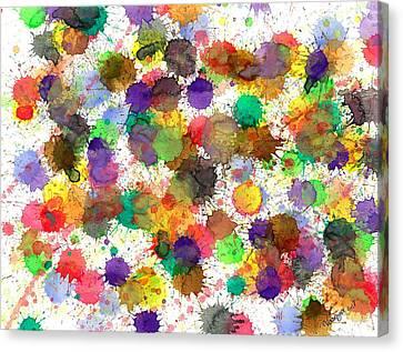 Freedom Of Colors Canvas Print by Nikunj Vasoya