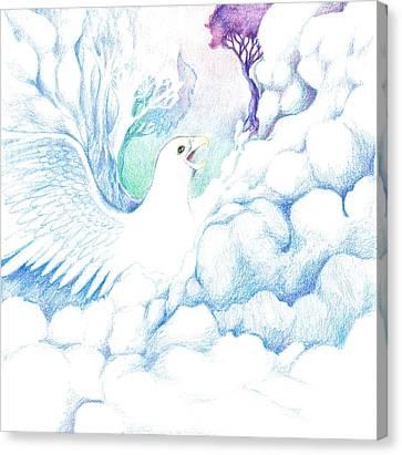 Freedom Oneness Art Canvas Print