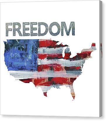 Freedom Canvas Print by Pamela J. Wingard