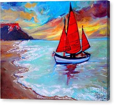 Freedom Sails Canvas Print