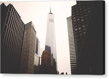 Freedom Tower  Canvas Print by Amber Fite