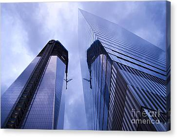Freedom Tower Ground Zero New York City Canvas Print by Sabine Jacobs