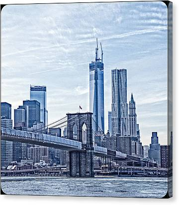 Freedom Tower Rising Canvas Print by Frank Winters