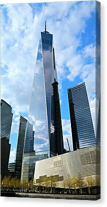 Freedom Tower Canvas Print by Stephen Stookey