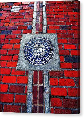 Freedom Trail Canvas Print by Benjamin Yeager