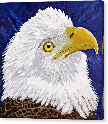 Freedom's Hope Canvas Print by Vicki Maheu