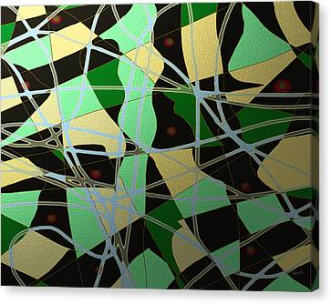 Freeflow 15 Canvas Print by Shesh Tantry