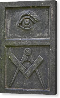 Freemason Canvas Print