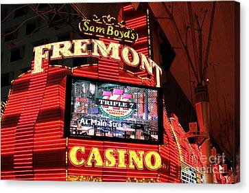 Fremont Casino Canvas Print