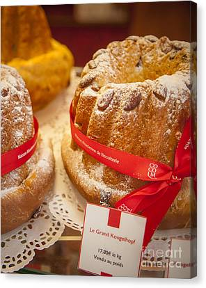 French - Alsace Pastry Canvas Print by Brian Jannsen