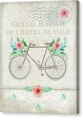 French Bike Canvas Print by Jennifer Pugh