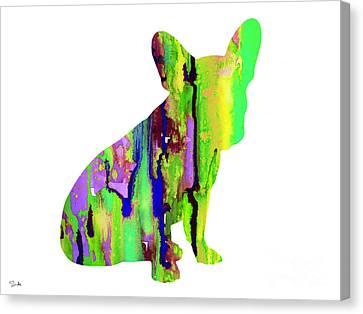 French Bulldog 2 Canvas Print by Luke and Slavi