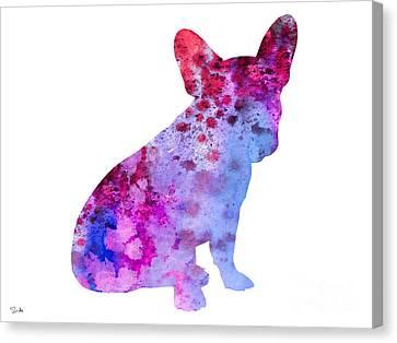 French Bulldog 3 Canvas Print by Luke and Slavi