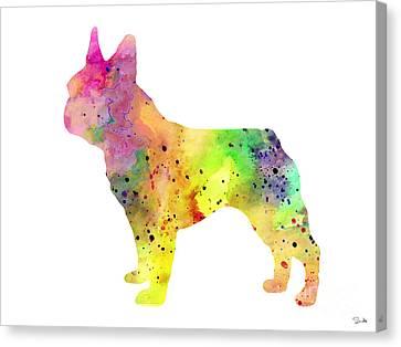 French Bulldog 6 Canvas Print by Luke and Slavi