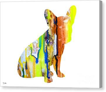 French Bulldog 8 Canvas Print by Luke and Slavi