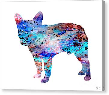French Bulldog Canvas Print by Lyubomir Kanelov
