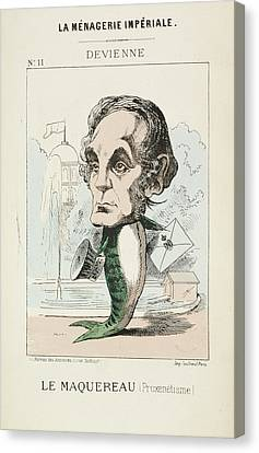 French Caricature - Le Maquereau Canvas Print by British Library