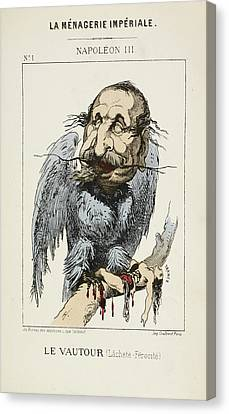 French Caricature - Le Vautour Canvas Print by British Library