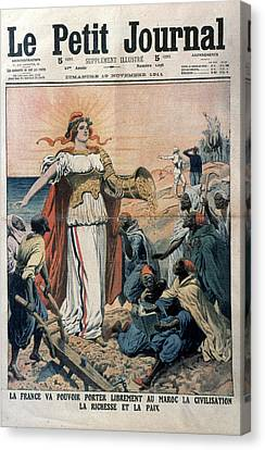 French Colonialism, 1911 Canvas Print by Granger