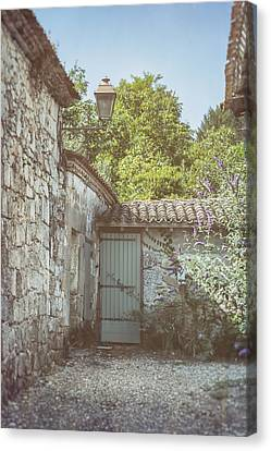 French Country Cottage Canvas Print by Georgia Fowler