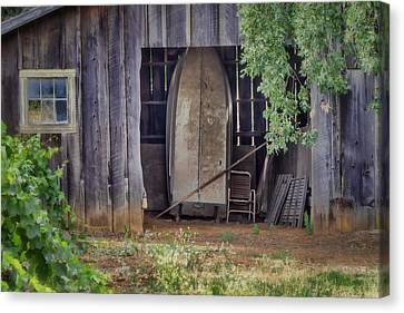 Countryside Barn Canvas Print by Joan Carroll