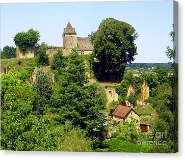 French Countryside Canvas Print by Sophie Vigneault