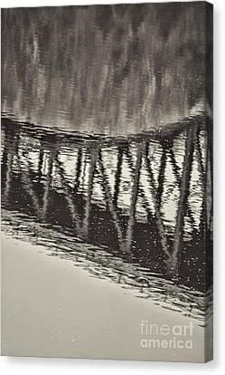 French King Bridge Bridge Canvas Print by HD Connelly