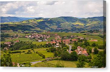 French Landscape 2 Canvas Print