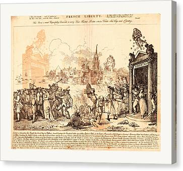 French Liberty, Nixon, John, -1818, Artist Canvas Print