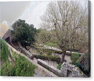 French Monastery Fortification  Canvas Print