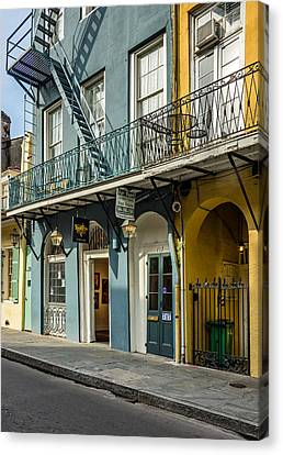 French Quarter Art And Artistry Canvas Print
