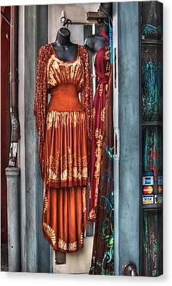 French Quarter Clothing Canvas Print by Brenda Bryant