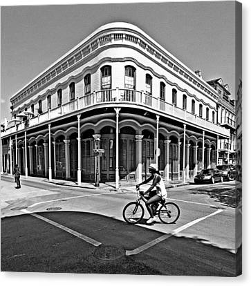 French Quarter Connection Canvas Print