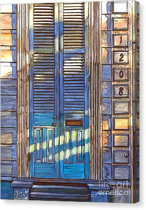 French Quarter House 1208 Canvas Print by John Boles