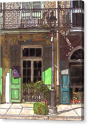 French Quarter Shop 369 Canvas Print by John Boles