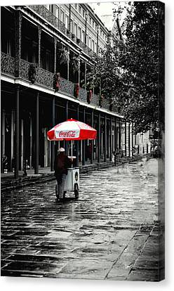 French Quarter Solitude...... Canvas Print