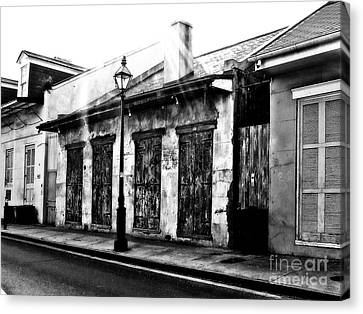 French Quarter Study 1 Canvas Print