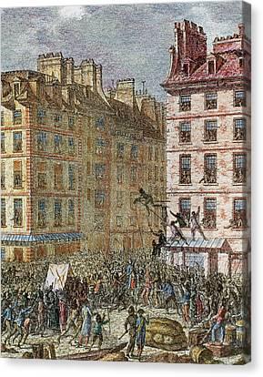 French Revolution (1789-1799 Canvas Print by Prisma Archivo