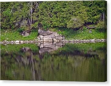 French River Ontario Canada Canvas Print by Marek Poplawski