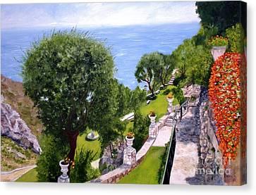 French Riviera Canvas Print by Graciela Castro