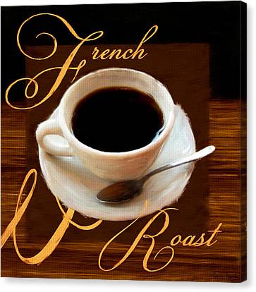 French Roast Canvas Print by Lourry Legarde