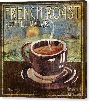 French Roast Canvas Print