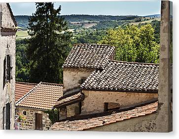 French Roofs Canvas Print by Georgia Fowler