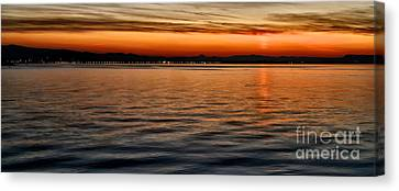 South Of France Canvas Print - French Sunset by Kate McKenna