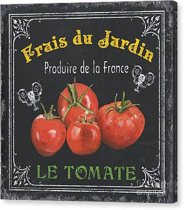 French Vegetables 1 Canvas Print by Debbie DeWitt