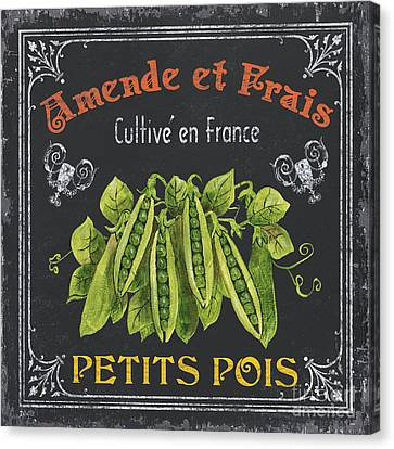 French Vegetables 2 Canvas Print by Debbie DeWitt