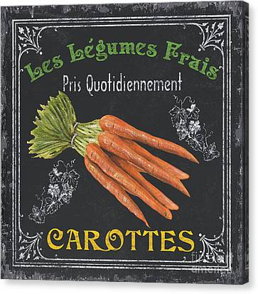 Signed Canvas Print - French Vegetables 4 by Debbie DeWitt