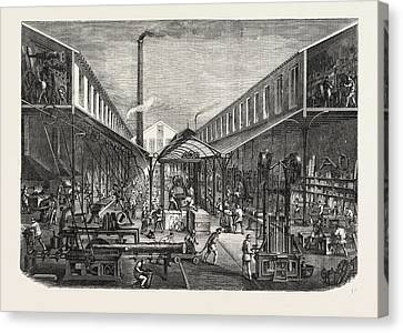 Historic Site Canvas Print - French Workshops Messrs. F by French School