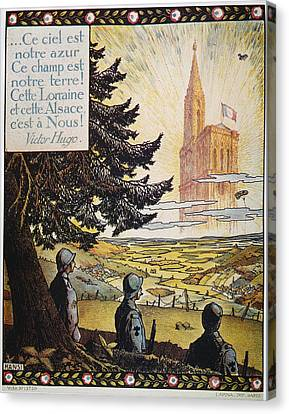 French World War I Poster Canvas Print by Granger