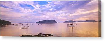 Frenchman Bay, Bar Harbor, Maine, Usa Canvas Print by Panoramic Images